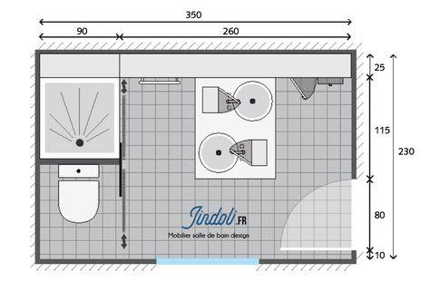 Exemple Plan De Salle De Bain De 9m2 Plan Salle De Bain Salle