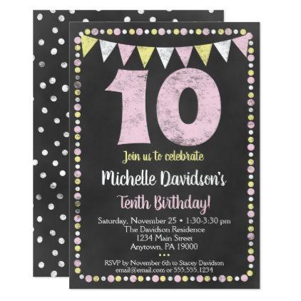 Pin On 10th Birthday