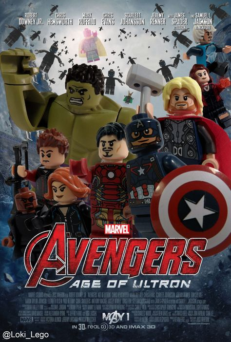 LEGO Avengers: Age of Ultron poster