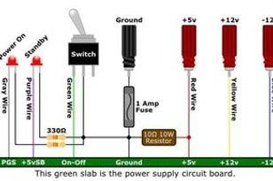 Convert A Computer Power Supply To A Variable Bench Top Lab Power Supply Computer Power Supplies Power Supply Circuit Power Supply