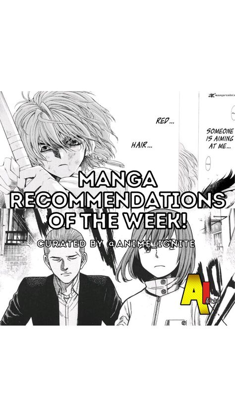 Manga Recommendations of the Week!