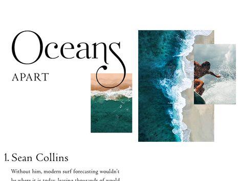 Oceans Apart - Surf Article