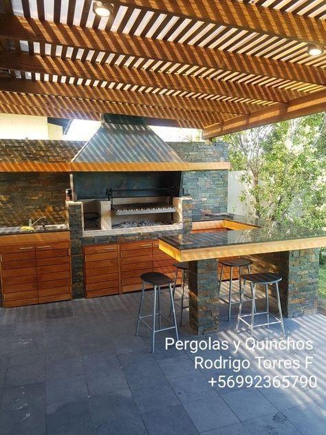 Barbecue Terraza Bbq Grill In 2020 Outdoor Kitchen Patio Patio Grill Backyard Patio Designs