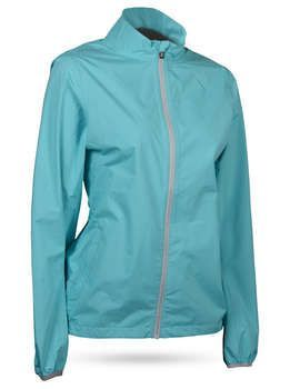 Women S Monsoon Jacket For Rainy Spring Days On The Course Womens Golf Fashion Golf Outfit Golf Outfits Women