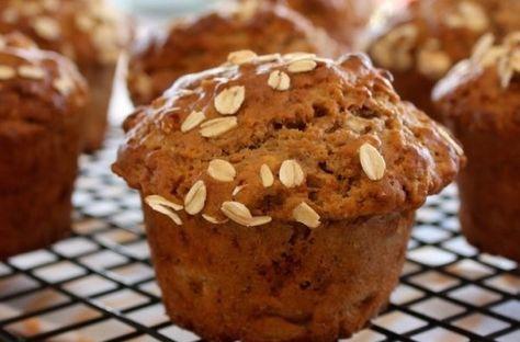طريقة عمل كب كيك الموز والشوفان طريقة Recipe Banana Oat Muffins Banana Oatmeal Muffins Healthy Banana Oat Muffins Healthy