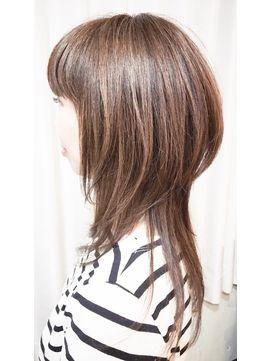 Image Result For 段カット ロング ストレート レイヤーカットヘア