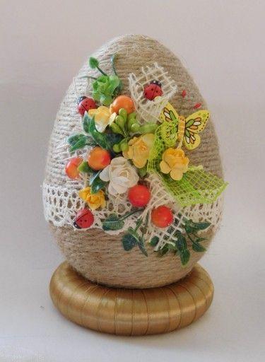 Piekne Jajko Pisanka Ozdoby Wielkanocne Rekodzielo 7165947305 Oficjalne Archiwum Allegro Easter Projects Egg Art Diy And Crafts