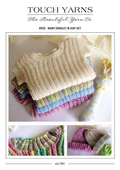 Knitting Pattern This Classic Pattern Is Knitted Sideways With Plunket Neckline Choose Baby Hat Knitting Pattern Baby Knitting Patterns Free Baby Hats Knitting