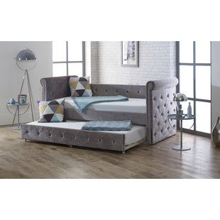 Daybeds Trundle Beds Futon Beds You Ll Love Wayfair Co Uk Daybed With Trundle Bed Frame With Mattress Daybed