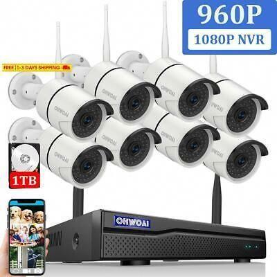 Ad Ebay Link 2019 Newest Ohwoai Security Camera System Wireless 8ch 1080p Nvr Cctv Surveillance Security Cameras For Home Wireless Security Camera System