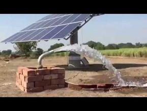 Working Water Running By Solar Water 5hp Pump Contact Prashik Hadke Solar Panels Solar Solar Energy Panels