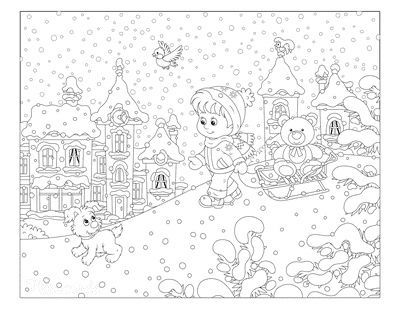 80 Best Winter Coloring Pages Free Printable Downloads In 2021 Coloring Pages Color Coloring Pages For Kids