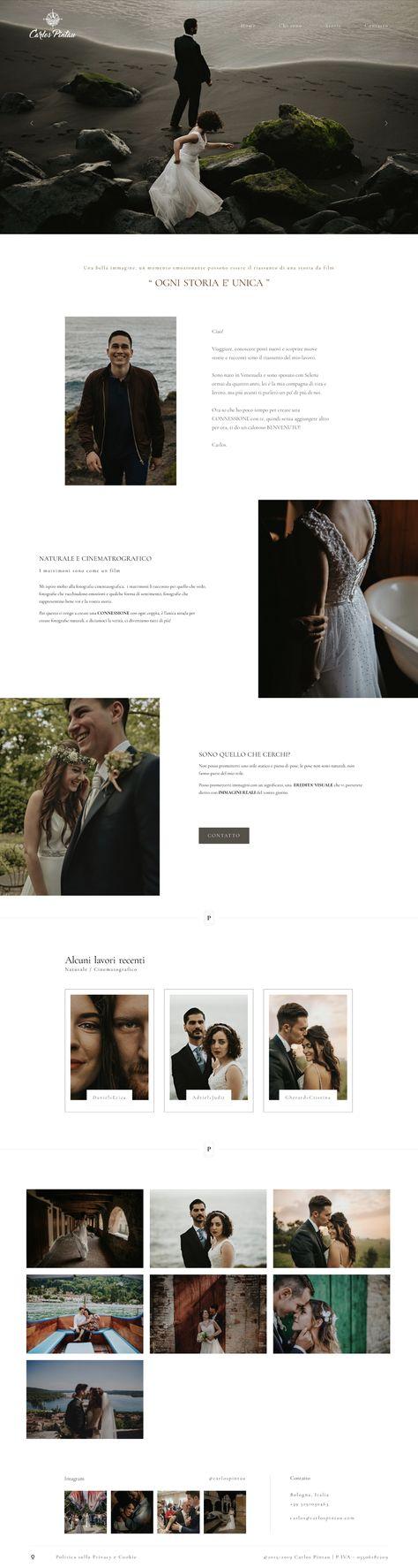 Wedding Photography Website Design - Porto II WordPress Theme by Flothemes.com
