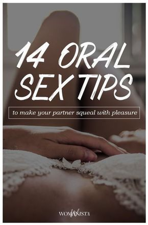 Pleasing your man orally