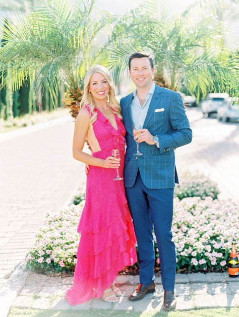 Palm Springs' La Quinta Resort Engagement Photos on Film