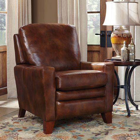 My home office is actually my living room and comfortable leather chair Plywood Furniture, New Furniture, Living Room Furniture, Rustic Furniture, Lazy Boy Recliner, Leather Recliner Chair, Leather Chairs, Leather Sofa, Sofa Design
