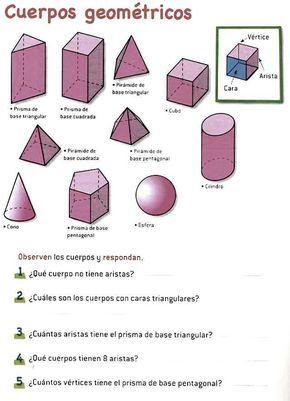 20 Ideas De Ejercicios De Figuras Geometricas Ejercicios De Figuras Geometricas Figuras Y Cuerpos Geometricos Actividades De Geometría