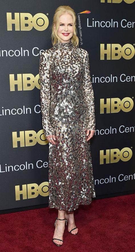 مدل لباس نیکول کیدمن Nicole Kidman در هفته مد از برند ژیوانشی Givenchy Dresses With Sleeves Long Sleeve Dress Fashion