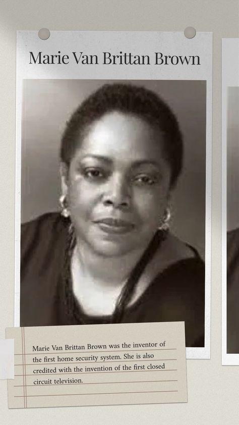 Inventor: Marie Van Brittan Brown