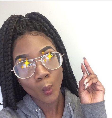 eyebrows and female melanin image
