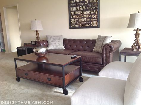 An Empty Apartment, An Adult Son Without A Piece Of Furniture To His Name.  How I Helped My Son Decorate His First Apartment While Respecting His  Budget And ...
