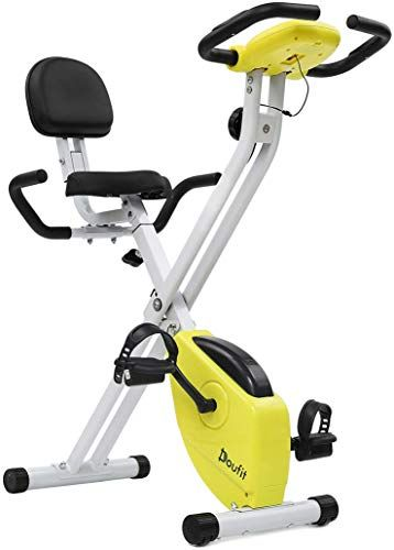 The Perfect Doufit Exercise Bike Stationary For Home Eb 01 Adjustable Magnetic Workout Bicycle Folding Upri Indoor Cycling Bike Biking Workout Indoor Cycling