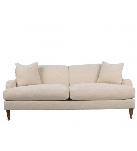 This Fully Upholstered Tight Back Sofa With Down Blend Cushions Will Last You A Lifetime Essential For Your Living Space Ou Sofa Tight Back Sofa Sofa Decor