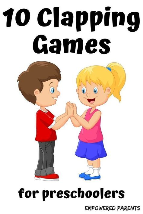 10 Fun Clapping Games for Kids in Preschool These hand-clapping games for kids in preschool and kindergarten are fun and educational. Start with easier songs and games and move to the challenging games as your child's coordination improves. Hand Games For Kids, Preschool Kids Games, Educational Games For Toddlers, Music Activities For Kids, Kindergarten Games, Kids Songs, Preschool Activities, Kids Learning, Therapy Activities