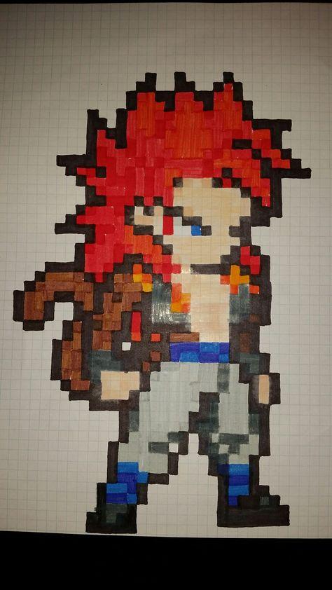 Gogeta Ssj4 Pixel Art Dibujos Pixelados Dibujos En
