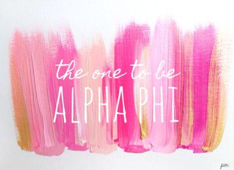 The very best girls go Alpha Phi