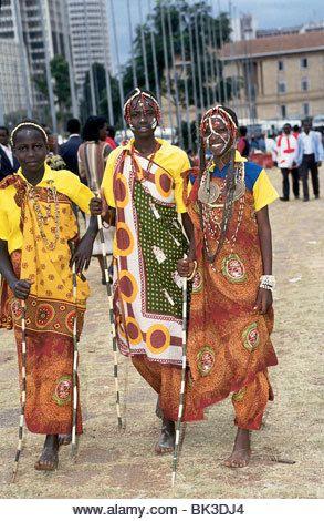 Clothing in Kenya for