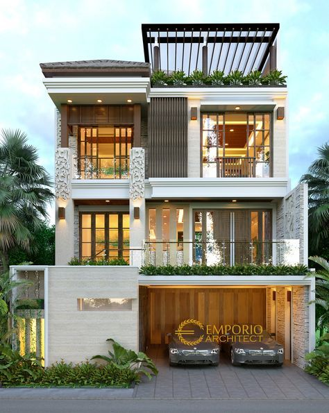 Jasa Arsitek Jakarta Desain Rumah Bapak Ibu Rifki Jasa Arsitek Desain Rumah Berkualitas Desai Desain Rumah Kecil Desain Eksterior Rumah Eksterior Rumah Modern