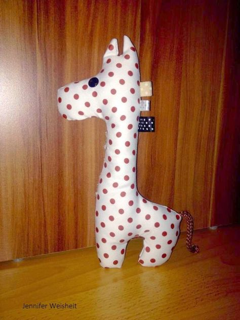 Freebook Schnittmuster Giraffe, Probenähergebnisse | Donnerstag ...