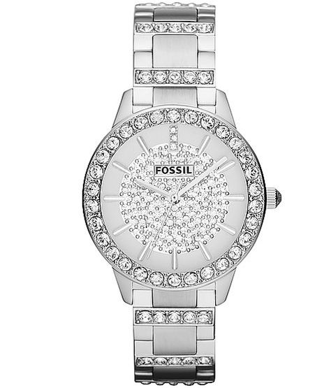 Fossil All-Over Glitz Watch from Buckle. Shop more products from Buckle on Wanelo.