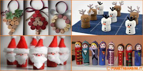 Lavoretti Di Natale Idee.Lavoretti Di Natale Con Tappi Di Sughero 15 Semplici Idee