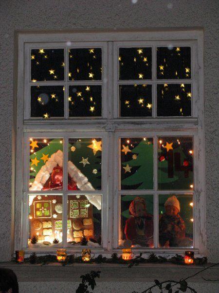 Haus Deko Ideen Weihnachtsfenster Dekoration 1001 Deko Ideen