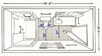 Visual Guide To 15 Bathroom Floor Plans Bathroom Floor Plans Bathroom Plans Bathroom Dimensions