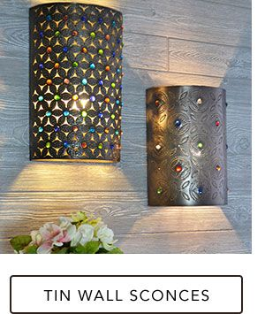 Tin Wall Sconces Onlineping Christmhopping