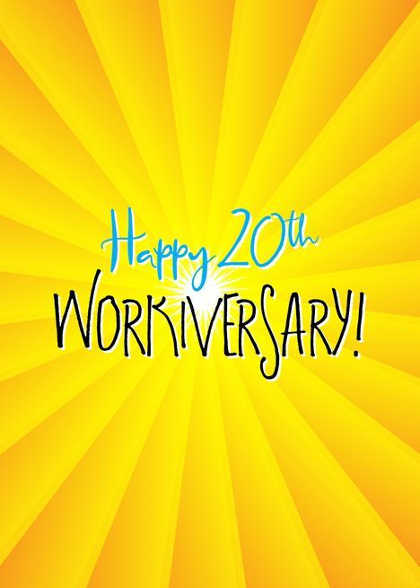 Happy 20th Work Anniversary Images : happy, anniversary, images, Anniversary, Happy, Workiversary, Card#20th, #anniversary, #card, #happy, #work, #workiversar…, Anniversary,, Cards,, Quotes