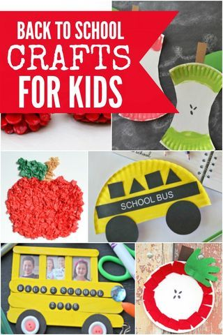 Back To School Crafts For Kids 15 Back To School Crafts Perfect