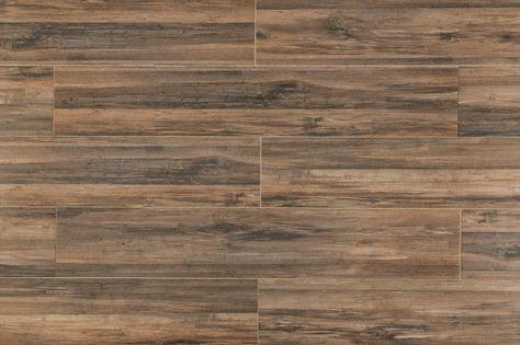 9 long plank wood look porcelain tile