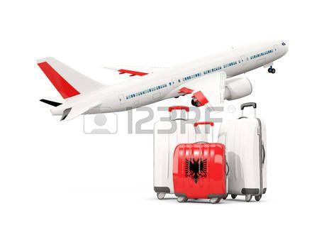 Stock Photo Ilustraciones Banderas Y Aviones