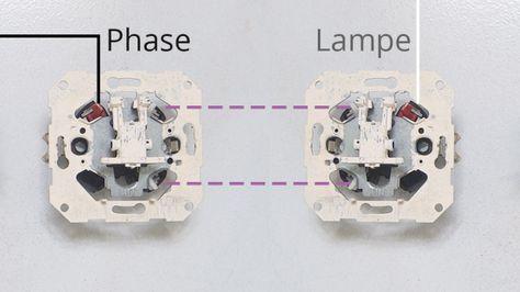 Kontakte Am Wechselschalter Farben Schaltplan Elektroinstallation Elektroinstallation Selber Machen
