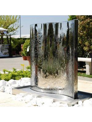 Fontaine de jardin Mur d\'eau inox 304 | mur d eau | Fontaine ...