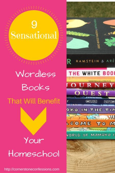 9 Sensational Wordless Books That Can Benefit Your Homeschool