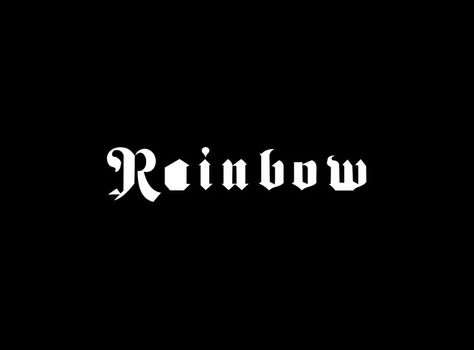 Pin By Kevin Stout On Music Band Logos Rainbow Band