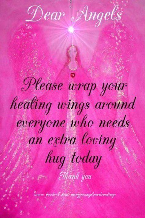 http://www.Facebook.com/SoulSistersNI angels healing wings prayer