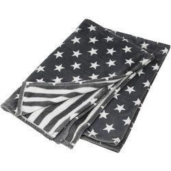 Decke Stars.Reduzierte Decken Wende Decke Stars Stripes Von Fit Z Grau Fit