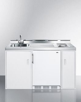 Summit C60elglass All In One Kitchen Combination Units Compact
