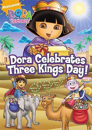 Dora The Explorer Dora Celebrates Three Kings Day Dvd Region 1 Sealed New Dora The Explorer Three Kings Dora